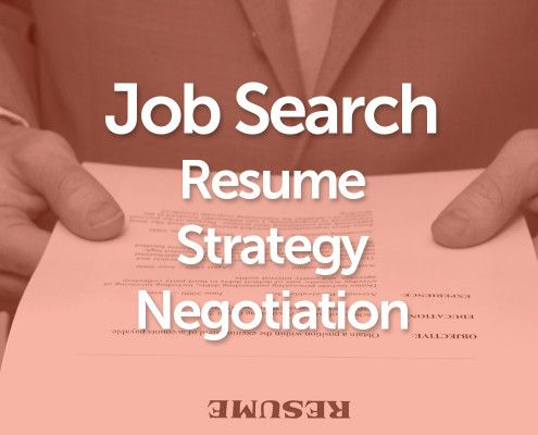 Job Search Resume Strategy Negotiation